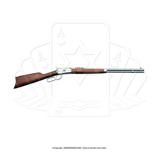 Carabina puma cano octogonal 12 tiros calibre 38 inox 1