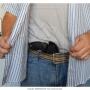 Coldre de couro revolver 5 tiros 2 polegadas destro 3