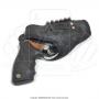 Coldre de couro revolver 6 tiros 3 polegadas para destro 1