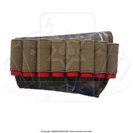 Cartucheira de Coronha Realtree Folha Calibre 12