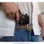 Coldre de nylon revolver 6 tiros 4 polegadas destro 2
