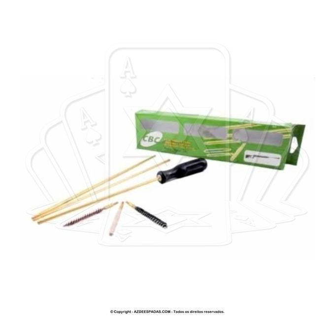 Kit de Limpeza Calibre 5,5 mm