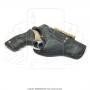 Coldre de couro revolver 8 tiros 4 polegadas 5