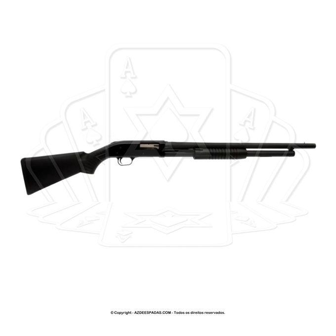 Espingarda pump boito calibre 12 coronha sintetica 1
