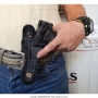 Coldre de nylon para pistola 838 compacta canhoto 5