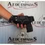 Coldre de nylon para pistola 838 compacta canhoto 6