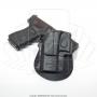 Coldre fobus gl2lh canhoto pistolas glock 8