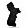 Empunhadura Pistol Grip de Borracha para Pump Boito