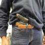 Coldre de couro revolver 7 tiros 2 polegadas destro 3