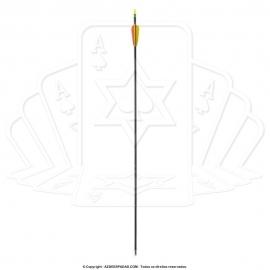 Flecha de Fibra de Vidro para Tiro com Arco