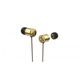 Fone de Ouvido Importado Munição Bullex Dourado