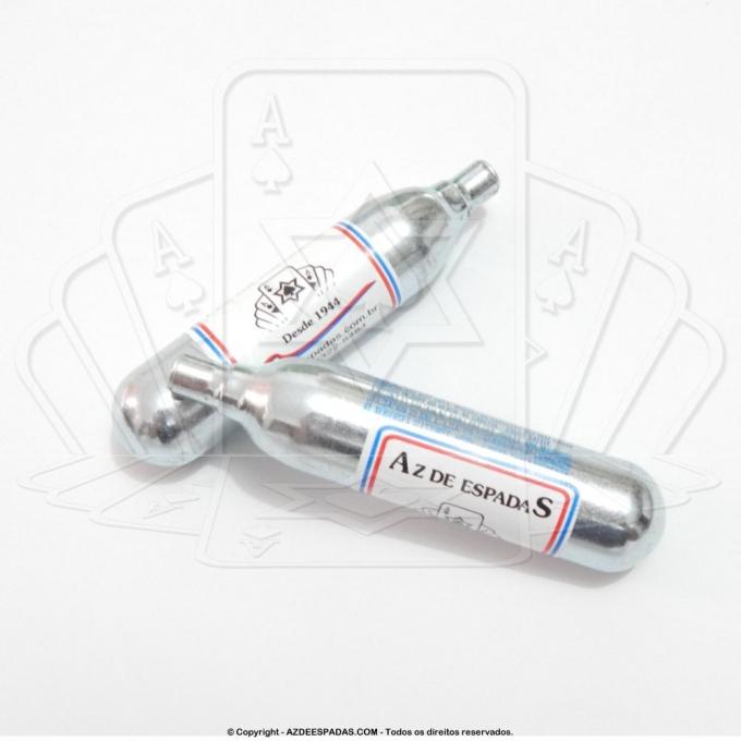 Cartucho de CO² com 12 gramas para Pistolas e Rifles de Airsoft
