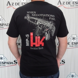 Camiseta HK MP5 Heckler Koch