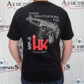 Camiseta HK MP5 Heckler Koch