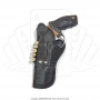 Coldre de couro revolver 5 tiros 4 polegadas canhoto 1