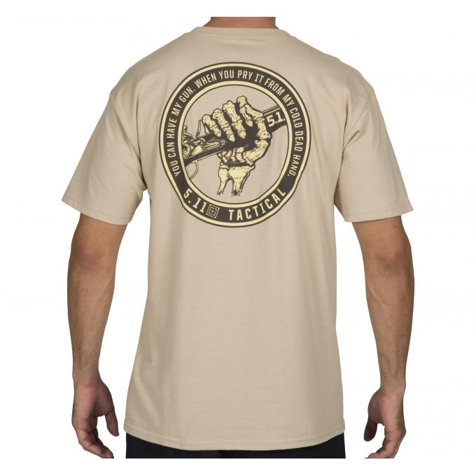 Camiseta 5.11 Mão Caveira