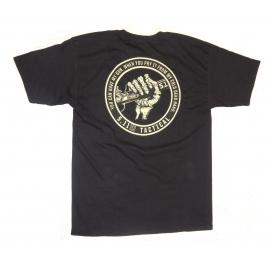 Camiseta 5.11 Mão Caveira Preta