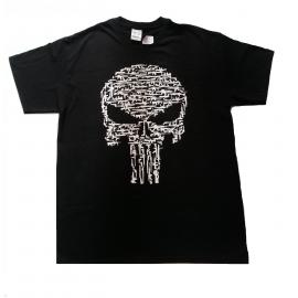 Camiseta Preta Justiceiro