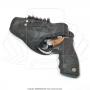 Coldre de couro revolver 6 tiros 3 polegadas para canhoto 4