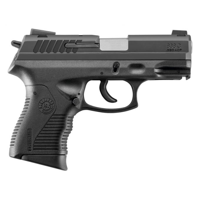 Pistola Taurus 838 Compacta Calibre 380 Oxidada