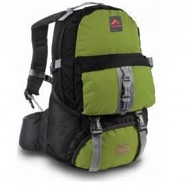 Mochila Trilhas & Rumos Crampon 38 Litros - Verde c/ Preto