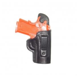 Coldre velado em couro premium para imbel xodo 40 e 9mm destro 1