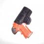 Coldre velado em couro premium para imbel xodo 40 e 9mm destro 3