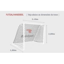 Rede Futsal Ecology 3,0mm