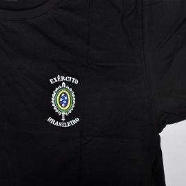 Camiseta Bordada Exército/Águia