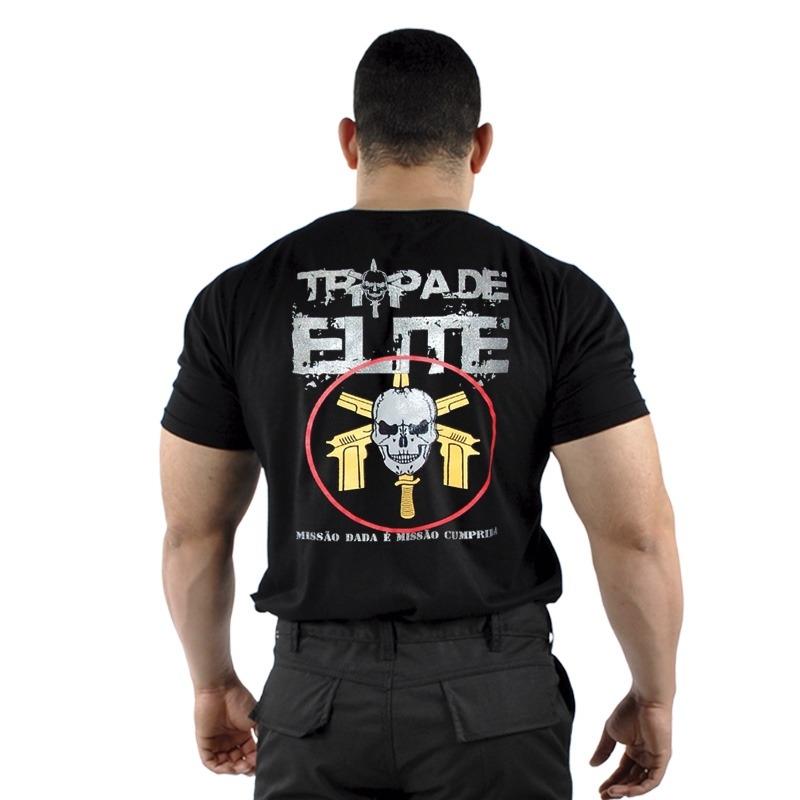 Camiseta estampada tropa de elite 2