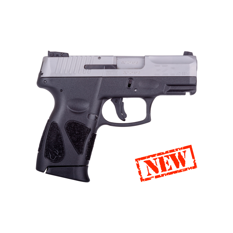 Pistola Taurus G2C .40 S&W Inox Fosco
