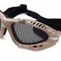 Oculos tatico para airsoft nautika kobra camuflado 1