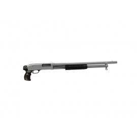 Espingarda Pump Boito Calibre 12 Niquelada Pistol Grip