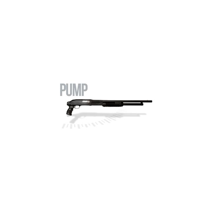 Espingarda Pump Boito Calibre 12 com Pistol Grip