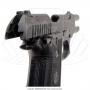 Pistola taurus 58 hc plus 20 tiros oxidada fosco calibre 380 4