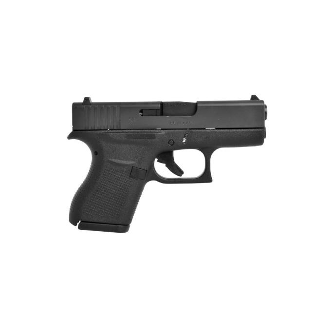 Pistola Glock G43 Slimline Cal. 9mm 6 Tiros