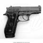 Pistola taurus 58 hc plus 20 tiros oxidada fosco calibre 380 5