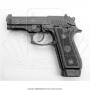 Pistola taurus 58 hc plus 20 tiros oxidada fosco calibre 380 6