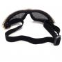 Oculos tatico para airsoft nautika kobra camuflado 3