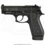 Pistola taurus 58 hc plus 20 tiros oxidada fosco calibre 380 7