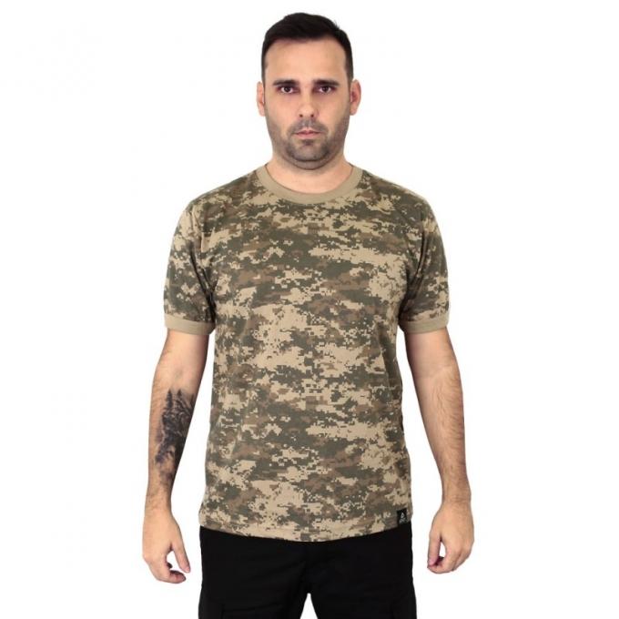 Camiseta Camuflada Areia