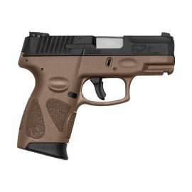 Pistola Taurus G2C 9mm Brown (Marron)