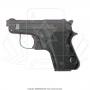 Empunhadura anatomica para pistola 635 taurus 51 ou beretta 950 1