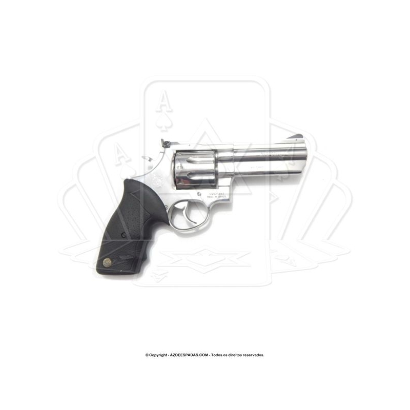 Revólver Taurus 838 Inox 4 polegadas 8 Tiros Calibre 38
