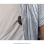 Coldre axilar ajustavel para revolver 6 tiros 4p padrao 3